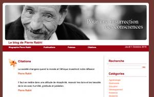Blog Pierre Rabhi